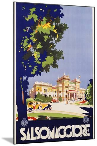 Salsomaggiore Poster--Mounted Giclee Print