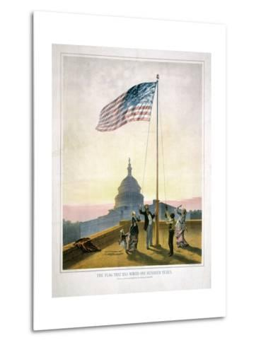 The Flag That Has Waved for One Hundred Years--Metal Print