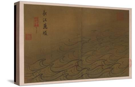 Water-Ma Yuan-Stretched Canvas Print
