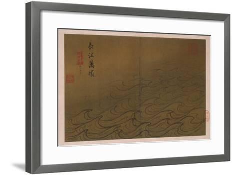 Water-Ma Yuan-Framed Art Print
