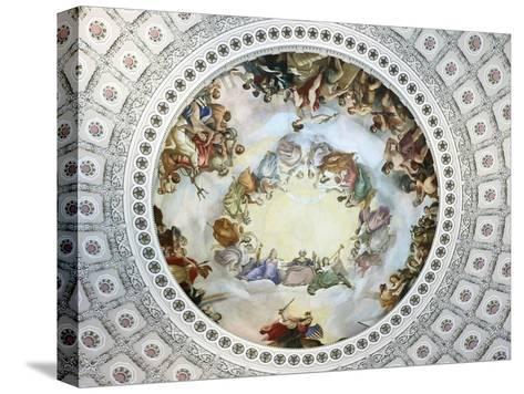 Apotheosis of Washington-Constantino Brumidi-Stretched Canvas Print