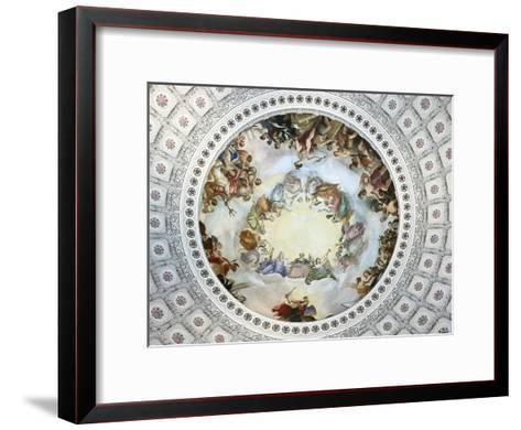 Apotheosis of Washington-Constantino Brumidi-Framed Art Print