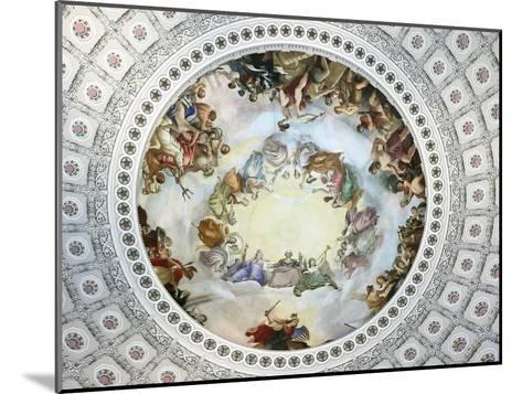 Apotheosis of Washington-Constantino Brumidi-Mounted Giclee Print