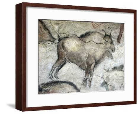 Replica of Cave Painting of Bison from Altamira Cave--Framed Art Print