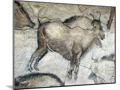Replica of Cave Painting of Bison from Altamira Cave--Mounted Giclee Print