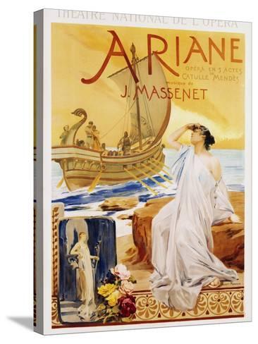 Ariane Poster-Albert Maignan-Stretched Canvas Print