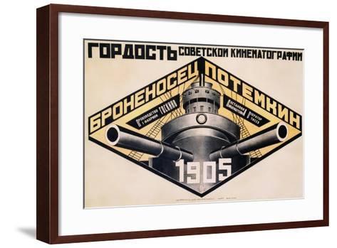 Battleship Potemkin 1905 Poster-Alexander Rodchenko-Framed Art Print