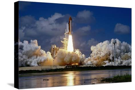 Launch of the Space Shuttle Discovery-Roger Ressmeyer-Stretched Canvas Print