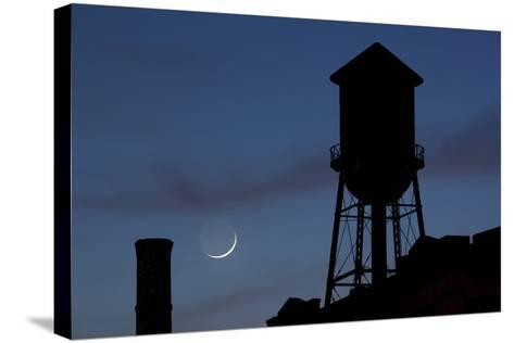 Water Towers, Jersey City, New Jersey-Paul Souders-Stretched Canvas Print
