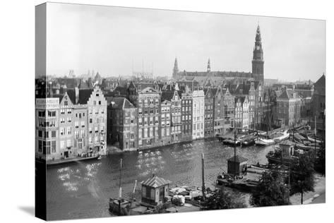 Tourist Photo in the Netherlands, Ca. 1910--Stretched Canvas Print