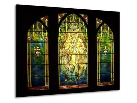 Tiffany Stained Glass Window--Metal Print