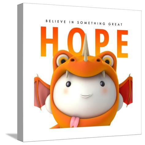 Hope Do Good--Stretched Canvas Print