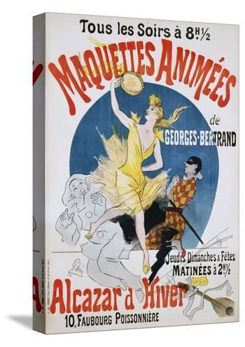 Maquettes Animees De Georges Bertrand Poster-Jules Ch?ret-Stretched Canvas Print