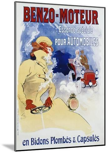Benzo-Moteur Poster-Jules Ch?ret-Mounted Giclee Print