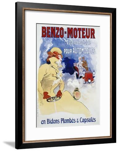 Benzo-Moteur Poster-Jules Ch?ret-Framed Art Print