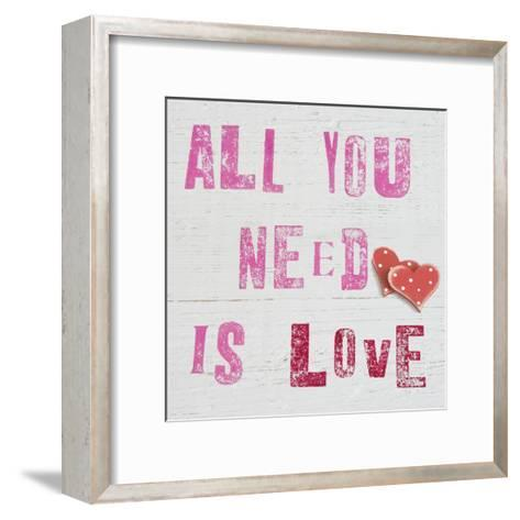 All You Need Is Love-Howard Shooter-Framed Art Print