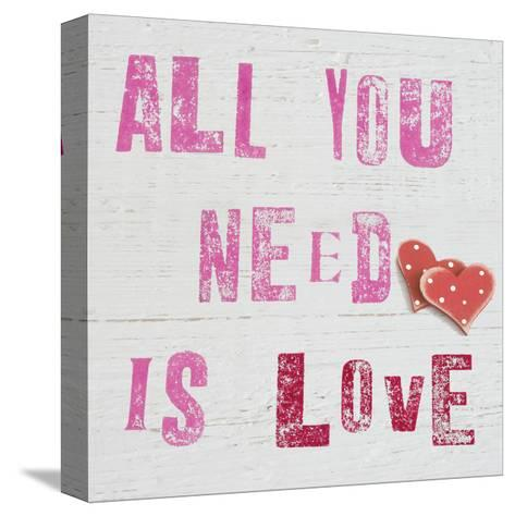 All You Need Is Love-Howard Shooter-Stretched Canvas Print