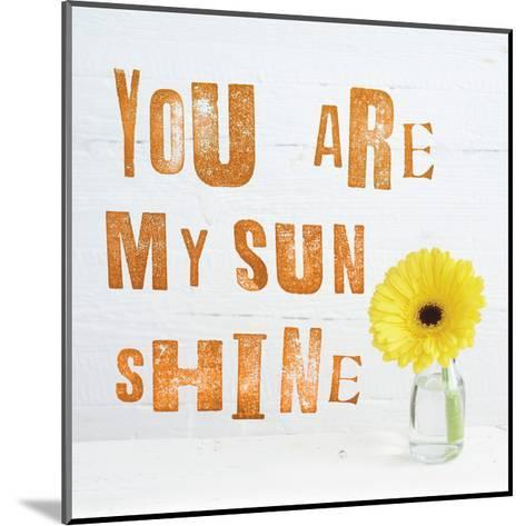You Are My Sun Shine-Howard Shooter-Mounted Giclee Print