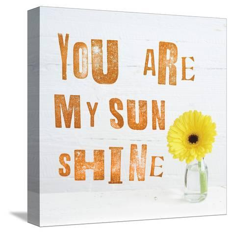 You Are My Sun Shine-Howard Shooter-Stretched Canvas Print