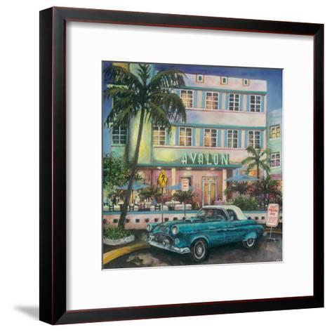 Avalon Hotel, Miami-Melissa Sturgeon-Framed Art Print