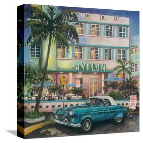 Avalon Hotel, Miami-Melissa Sturgeon-Stretched Canvas Print
