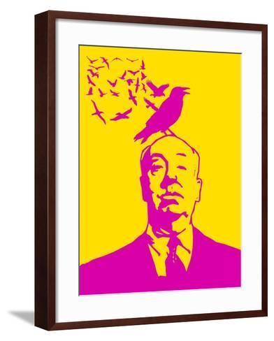 Birdy Poster 3-Anna Malkin-Framed Art Print