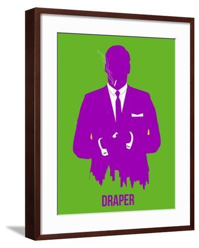 Draper Poster 1-Anna Malkin-Framed Art Print