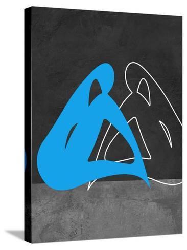 Blue Woman-Felix Podgurski-Stretched Canvas Print