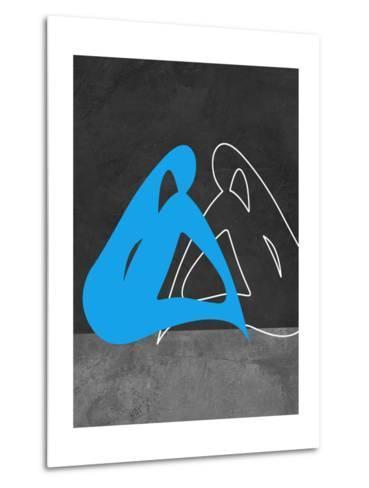 Blue Woman-Felix Podgurski-Metal Print