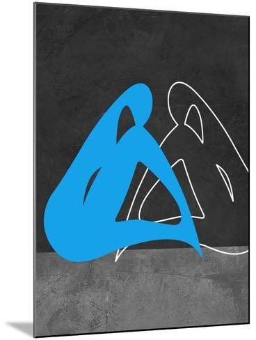 Blue Woman-Felix Podgurski-Mounted Art Print