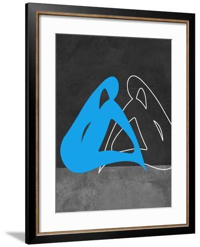 Blue Woman-Felix Podgurski-Framed Art Print