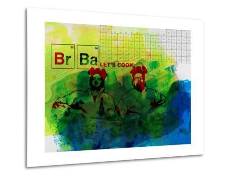 Br Ba Watercolor 1-Anna Malkin-Metal Print