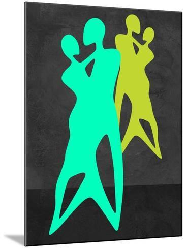 Green Dance-Felix Podgurski-Mounted Art Print