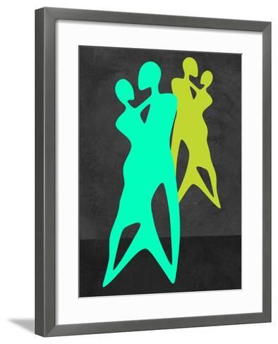 Green Dance-Felix Podgurski-Framed Art Print