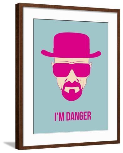 I'm Danger Poster 2-Anna Malkin-Framed Art Print