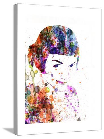 Amelie Watercolor-Anna Malkin-Stretched Canvas Print