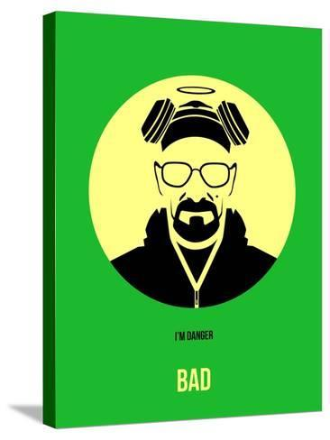 Bad Poster 2-Anna Malkin-Stretched Canvas Print