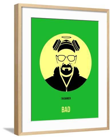 Bad Poster 2-Anna Malkin-Framed Art Print