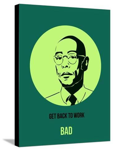Bad Poster 4-Anna Malkin-Stretched Canvas Print