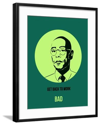 Bad Poster 4-Anna Malkin-Framed Art Print