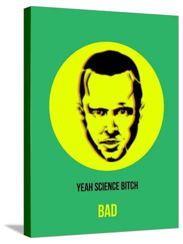 Yeah Science Poster 2-Anna Malkin-Stretched Canvas Print