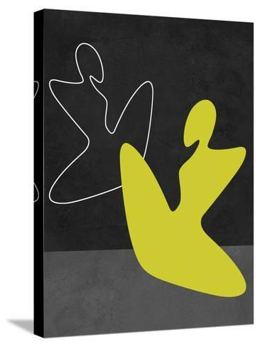 Yellow Girl-Felix Podgurski-Stretched Canvas Print