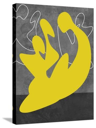 Yellow Lovers-Felix Podgurski-Stretched Canvas Print