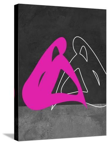 Purple Woman-Felix Podgurski-Stretched Canvas Print