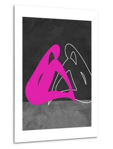 Purple Woman-Felix Podgurski-Metal Print