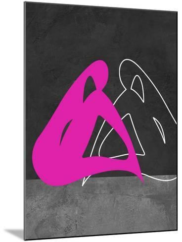 Purple Woman-Felix Podgurski-Mounted Art Print