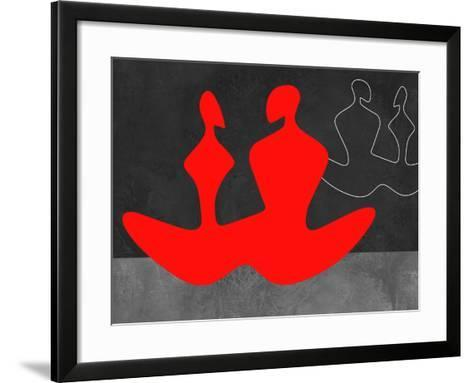 Red Couple 1-Felix Podgurski-Framed Art Print