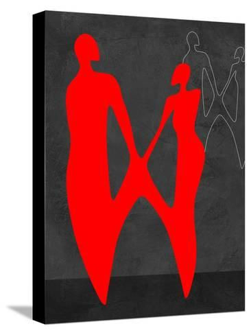 Red Couple 2-Felix Podgurski-Stretched Canvas Print
