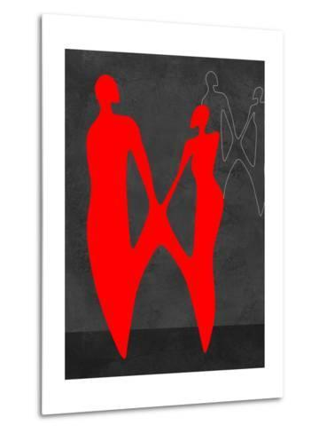 Red Couple 2-Felix Podgurski-Metal Print