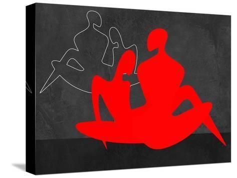 Red Couple 3-Felix Podgurski-Stretched Canvas Print